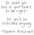 Do Feel Right Criticized Roosevelt