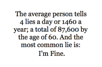 I'm Fine Lie