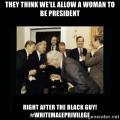 white male privilege